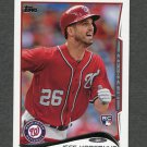 2014 Topps Mini Baseball #443 Jeff Kobernus RC - Washington Nationals