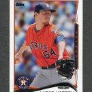 2014 Topps Mini Baseball #419 Lucas Harrell - Houston Astros