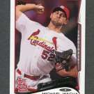 2014 Topps Mini Baseball #414 Michael Wacha - St. Louis Cardinals