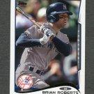 2014 Topps Mini Baseball #396 Brian Roberts - New York Yankees