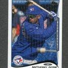 2014 Topps Mini Baseball #247 Anthony Gose - Toronto Blue Jays