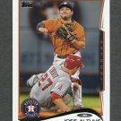 2014 Topps Mini Baseball #210 Jose Altuve - Houston Astros