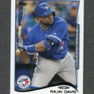 2014 Topps Mini Baseball #165 Rajai Davis - Toronto Blue Jays
