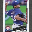 2014 Topps Mini Baseball #092 Martin Perez - Texas Rangers