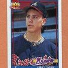 1991 Topps Baseball #227 Steve Avery - Atlanta Braves ExMt