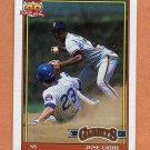 1991 Topps Baseball #158 Jose Uribe - San Francisco Giants