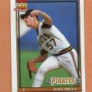 1991 Topps Baseball #143 John Smiley - Pittsburgh Pirates