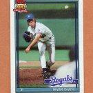 1991 Topps Baseball #116 Mark Davis - Kansas City Royals