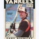 1986 O-Pee-Chee Baseball #183 Gary Roenicke - New York Yankees