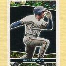 1993 Topps Black Gold Baseball #35 Pat Listach - Milwaukee Brewers
