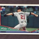 1994 Topps Baseball #308 Mike Trombley - Minnesota Twins