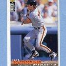 1995 Collector's Choice Baseball #341 Bret Barberie - Baltimore Orioles