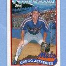 1989 Topps Baseball #233 Gregg Jefferies FS - New York Mets