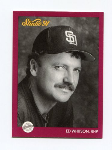 1991 Studio Baseball #250 Ed Whitson - San Diego Padres