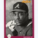 1991 Studio Baseball #144 Ron Gant - Atlanta Braves