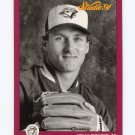 1991 Studio Baseball #135 Kelly Gruber - Toronto Blue Jays