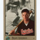 1992 Studio Baseball #121 Brady Anderson - Baltimore Orioles