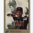 1992 Studio Baseball #115 Royce Clayton - San Francisco Giants