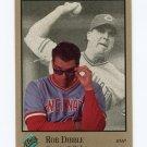 1992 Studio Baseball #022 Rob Dibble - Cincinnati Reds
