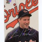 1993 Studio Baseball #156 Chris Hoiles - Baltimore Orioles