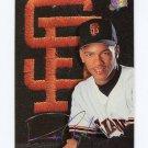 1993 Studio Baseball #094 Royce Clayton - San Francisco Giants Ex