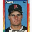 1990 Topps Traded Baseball #029T Scott Erickson RC - Minnesota Twins