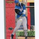 2002 Upper Deck Ballpark Idols Baseball #051 Juan Gonzalez - Texas Rangers