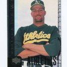 1998 Upper Deck Baseball #466 Willie Adams - Oakland Athletics