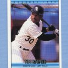 1992 Donruss Baseball #312 Tim Raines - Chicago White Sox