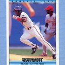 1992 Donruss Baseball #284 Ron Gant - Atlanta Braves