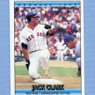 1992 Donruss Baseball #169 Jack Clark - Boston Red Sox