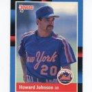 1988 Donruss Baseball #569 Howard Johnson - New York Mets