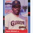 1988 Donruss Baseball #066 Kevin Mitchell - San Francisco Giants