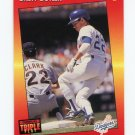 1992 Triple Play Baseball #059 Brett Butler - Los Angeles Dodgers