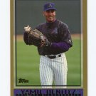 1998 Topps Baseball #467 Yamil Benitez - Arizona Diamondbacks