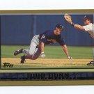 1998 Topps Baseball #435 Todd Dunn - Milwaukee Brewers