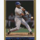 1998 Topps Baseball #389 Eric Young - Los Angeles Dodgers
