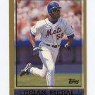 1998 Topps Baseball #386 Brian McRae - New York Mets