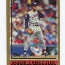 1998 Topps Baseball #379 Mark Langston - Anaheim Angels