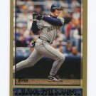 1998 Topps Baseball #355 Dave Nilsson - Milwaukee Brewers