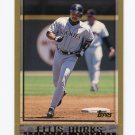 1998 Topps Baseball #310 Ellis Burks - Colorado Rockies