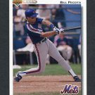 1992 Upper Deck Baseball #793 Bill Pecota - New York Mets