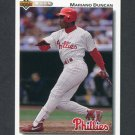 1992 Upper Deck Baseball #792 Mariano Duncan - Philadelphia Phillies