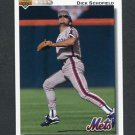1992 Upper Deck Baseball #791 Dick Schofield - New York Mets