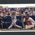 1992 Upper Deck Baseball #783 Kevin Seitzer - Milwaukee Brewers