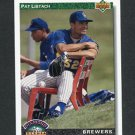 1992 Upper Deck Baseball #775 Pat Listach RC - Milwaukee Brewers