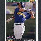 1992 Upper Deck Baseball #771 Bret Boone RC - Seattle Mariners