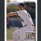 1992 Upper Deck Baseball #722 Kirk McCaskill - Chicago White Sox
