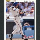 1992 Upper Deck Baseball #546 David Justice - Atlanta Braves