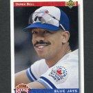 1992 Upper Deck Baseball #026 Derek Bell - Toronto Blue Jays